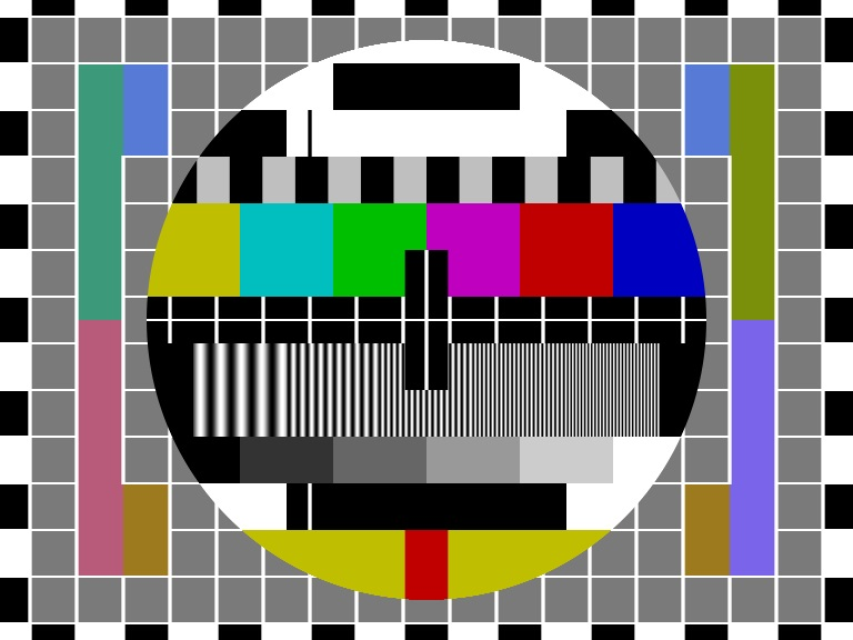 PAL Test Pattern PM5544