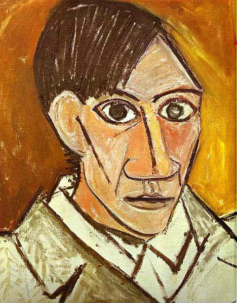 Pablo Picasso - Self Portrait (1907)